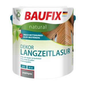 Baufix natural Dekor-Langzeitlasur graphitgrau
