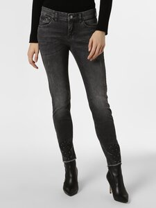MAC Damen Jeans - Slim Bohemian grau Gr. 44-29