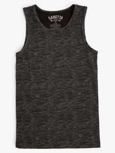 Sanetta Jungen Unterhemd schwarz Gr. 152