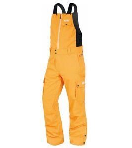 PICTURE Charles Bib Schnee-Anzug funktionale Ski-Latzhose Schnee-Hose für Herren Gelb, Größe:L