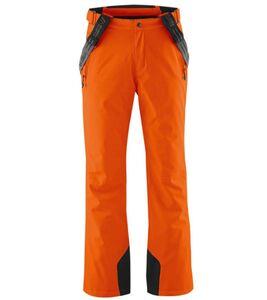 maier sports Anton Light Ski-Hose wasser- und winddichte Herren Snowboard-Hose Orange, Größe:54