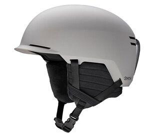 SMITH Scout Snowboardhelm sicherer Skihelm für Erwachsene Schutz-Helm Hellgrau, Größe:S