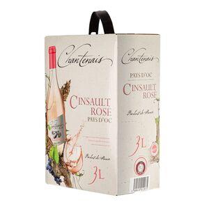 Bag-in-Box - Vin de Pays d'Oc - Cinsault - Rose - Chantenais 3 L., Auswahl:1 Box
