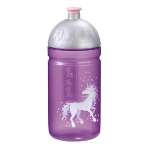 Step by Step Trinkflasche Unicorn Einhorn Flieder