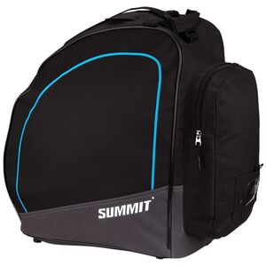 Summit Skischuhtasche Schwarz und Kobaltblau
