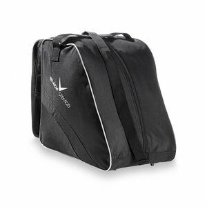 BLACK CREVICE - Tasche für Ski- & Snowboardschuhe  | 45x39x25 cm | Farbe: Schwarz/Silber
