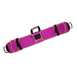 Kratzfest und Anti-Rost Snowboardtasche, Boardbag, Tragetasche mit Schulterriemen - Passend für 153-165cm Snowboard Farbe Rosenrot 145cm
