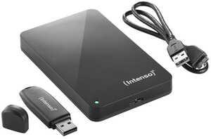 INTENSO Externe 2,5-Zoll-Festplatte + USB-Stick