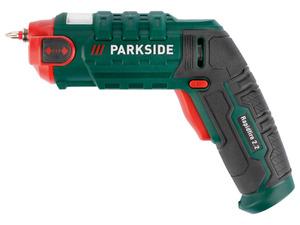 PARKSIDE® 4V Akku-Wechselbitschrauber »Rapidfire 2.2«, mit LED-Werkstückbeleuchtung