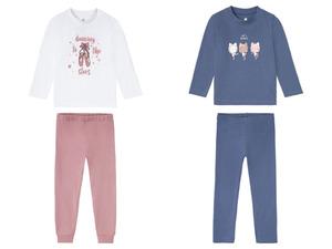 LUPILU® Kleinkinder Mädchen Pyjama, mit Print