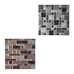 LIVING ART     Wandsticker mit Mosaik