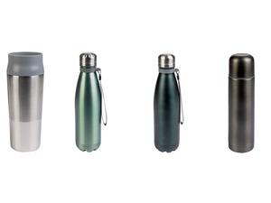 ERNESTO® Thermoflasche /Becher, doppelwandig