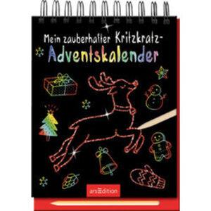 Mein zauberhafter Kritzkratz-Adventskalender