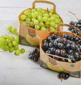Naturland tegut... Bio-Weintrauben hell oder blau, kernlos