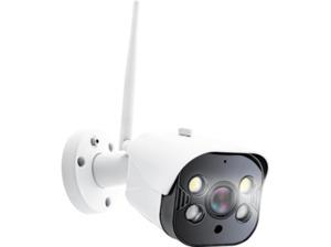 CALIBER HWC404 Intelligente Smart Kamera mit LED-Spots, Überwachungskamera