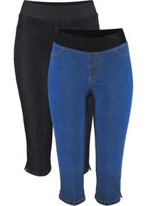 Capri-Jeansleggings (2er-Pack)