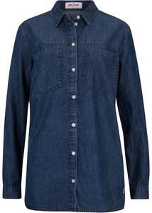 Jeansbluse aus Bio Baumwolle