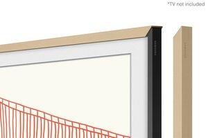 Beiger Rahmen 75 Zoll für The Frame (2021)