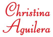 Angebote von Christina Aguilera vergleichen und suchen.